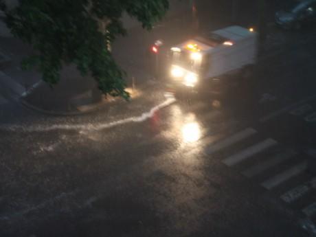 De violents orages ont touché Lyon samedi matin - LyonMag