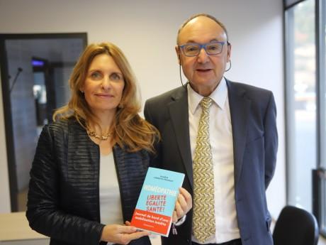 Valérie Poinsot et Gérard Angel - LyonMag