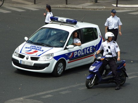 Une patrouille de police - Photo DR
