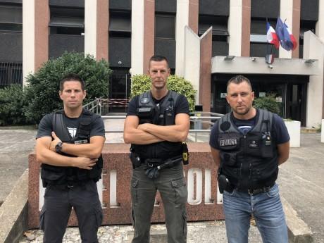 Les trois policiers qui ont rattrapé le désespéré - LyonMag