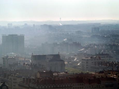 La ville de Lyon, polluée à l'ozone - Lyonmag.com