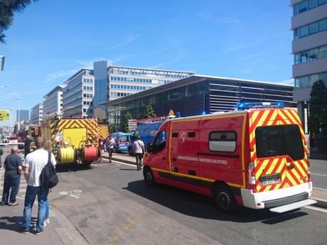 Les pompiers sont intervenus sur l'avenue Vivier-Merle - Lyonmag.com