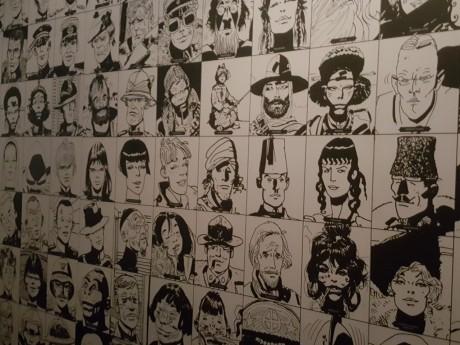 Portraits des personnages nommés par Hugo Pratt - LyonMag
