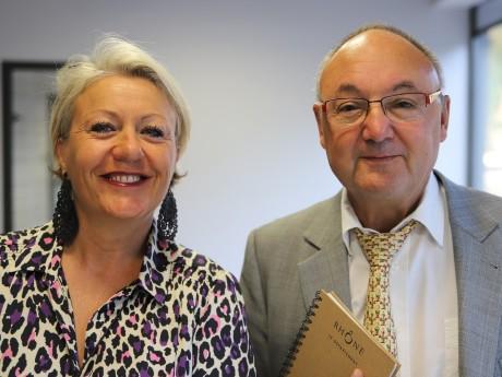 Nathalie Pradines et Gérard Angel - LyonMag