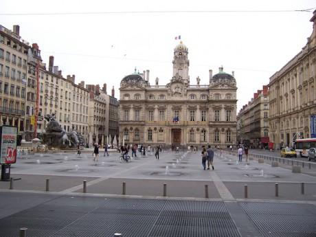 La place des Terreaux où se dérouleront les évènements - LyonMag