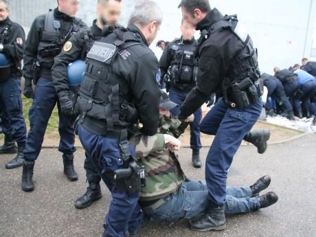 Des grévistes sont évacués - LyonMag