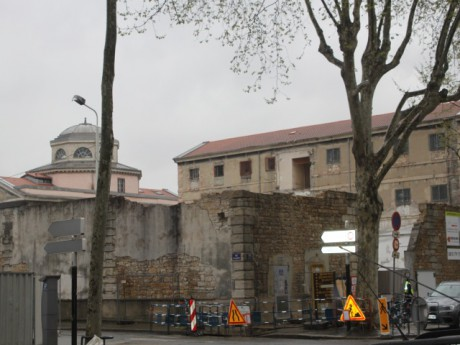 Les travaux sur le site de l'ancienne prison St Joseph ont officiellement débuté - LyonMag.com