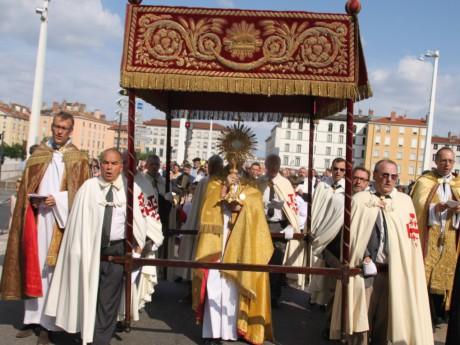 La procession ce dimanche après-midi - LyonMag