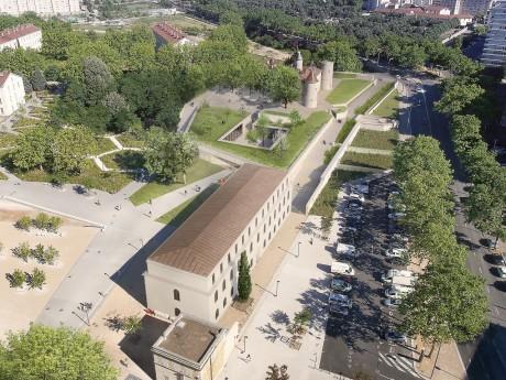 Aperçu du projet hôtelier du parc Blandan - DR