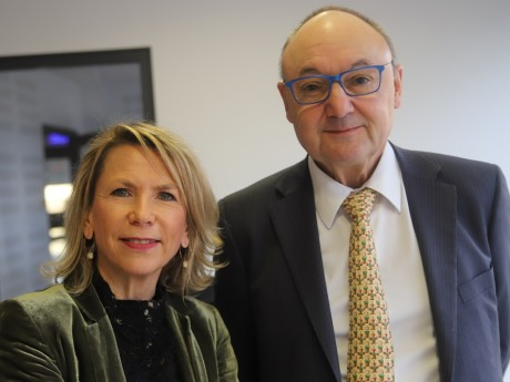 Anne Prost et Gérard Angel - LyonMag