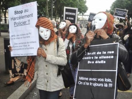 Les prostituées manifestent ce mardi à Lyon - LyonMag.com
