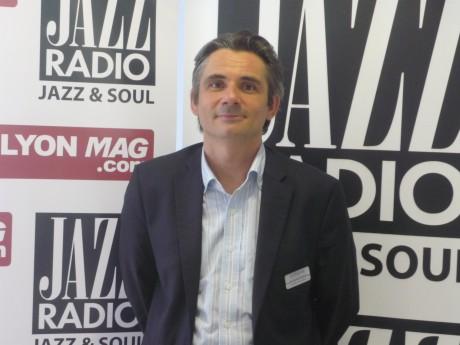 Stéphane Psomiadis, directeur du pôle de commerces et de loisirs Confluence