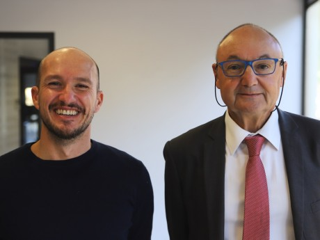 Laurent Pujo-Menjouet et Gérard Angel - LyonMag