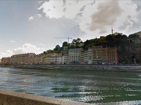 Quai Pierre Scize - Google Street View