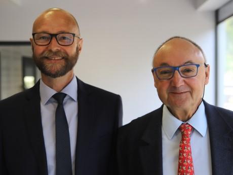 Christophe Quiniou et Gérard Angel - LyonMag