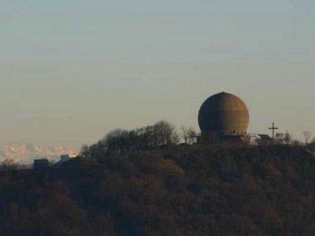 Le radar militaire du Mont Thou - DR