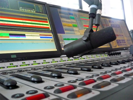 Un studio de radio à Lyon - Photo Lyonmag.com