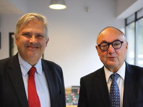 Gerbert Rambaud et Gérard Angel - LyonMag