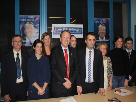 Les neuf têtes de liste FN à Lyon - LyonMag