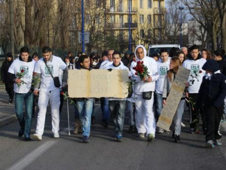 La marche blanche en hommage à Jérôme Joseph - LyonMag