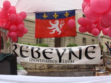 Les jeunes identitaires de Rebeyne manifestent - LyonMag