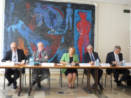 Conférence de presse de rentrée à l'Académie de Lyon - photo Lyonmag