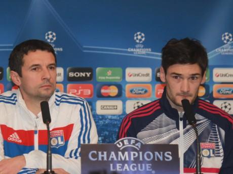 En instance de départ, Hugo Lloris (à droite) pourrait ne pas être dans le groupe de Rémi Garde samedi - LyonMag.com