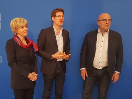 Véronique Trillet-Lenoir, Pascal Canfin et Bruno Bonnell - LyonMag