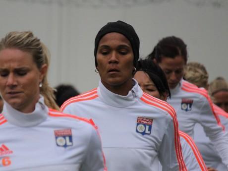La capitaine de l'OL féminin Wendie Renard - LyonMag
