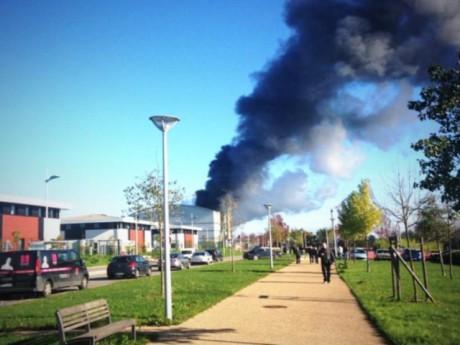 L'incendie de novembre 2013 - DR