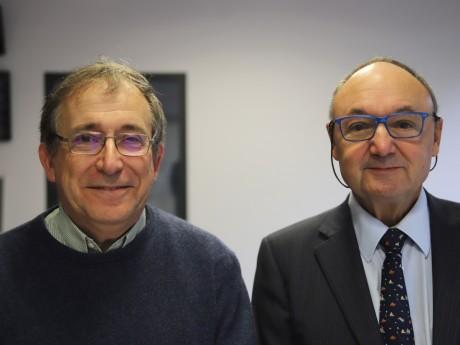 Jean Riondet et Gérard Angel - LyonMag
