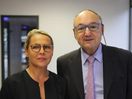 Sylvie Robert et Gérard Angel - LyonMag