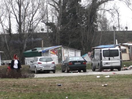 Pas de signe apparent de l'altercation mardi soir au camp rom de Saint-Fons - LyonMag.com