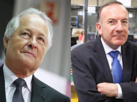 Jean-François Roubaud (CGPME) et Pierre Gattaz (Medef) - DR