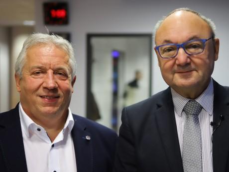 Yves Rouèche et Gérard Angel - LyonMag