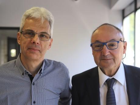 Cédric Rousset et Gérard Angel - LyonMag