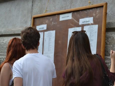 Les lycées d'Edouart Herriot regardent les résultats du bac - LyonMag