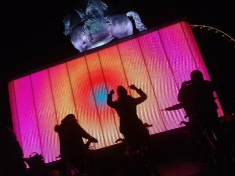 Le cube à illuminer en pédalant sur la place Bellecour lors de la Fête des Lumières - LyonMag.com