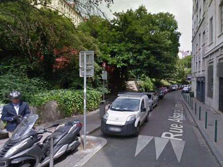 L'agression avait eu lieu au pied de la place Croix-Paquet - DR Google