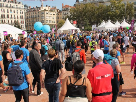Le village Run In Lyon place Bellecours