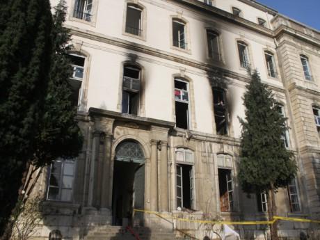 Une personne a été placée en garde à vue après l'incendie du foyer - LyonMag