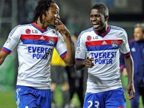 Bakary Koné et Samuel Umtiti, respectivement 24 et 19 ans, pourraient former la charnière centrale de l'OL version 2012-2013 - DR
