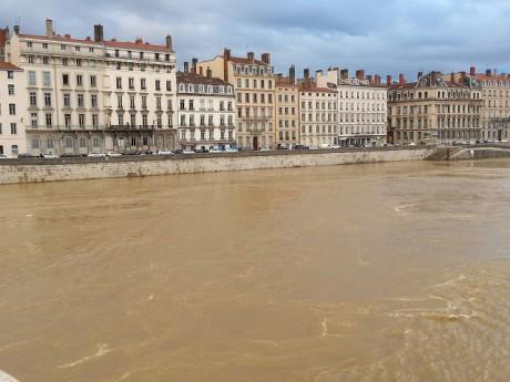 La Saône ce dimanche - LyonMag