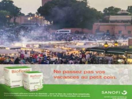La fameuse publicité de Sanofi - DR
