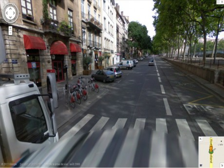 Le quai Rolland où a eu lieu l'agression - DR Google Maps