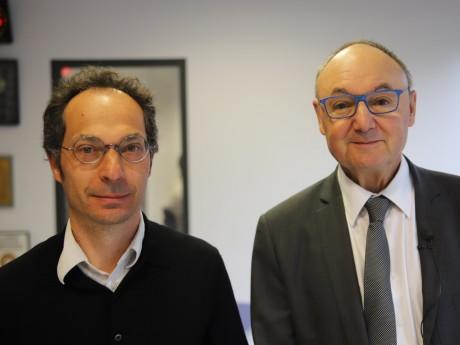 Benoît Schneckenburger et Gérard Angel - LyonMag