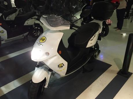 L'un des scooters proposés par LPA - LyonMag