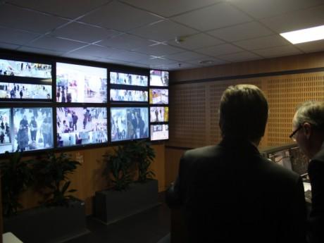 Le PC de sécurité du centre commercial de la Part-Dieu - LyonMag