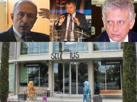 Gérard Collomb, Jean-Christophe Larose et Jean-Paul Viossat - Montage LyonMag et DR