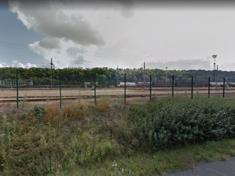 La gare de triage de Sibelin - DR Google